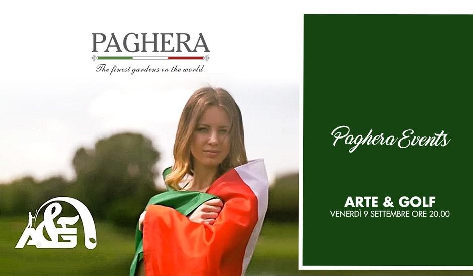 I Giardini Paghera ospitano l'aperitivo Arte&Golf 2016