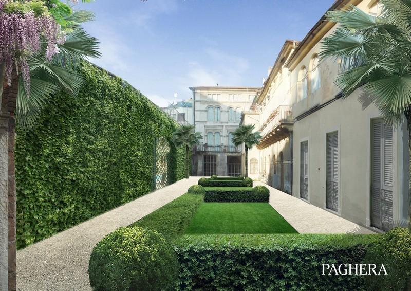 In città, nel centro storico un piccolo gioiello verde - Giardini