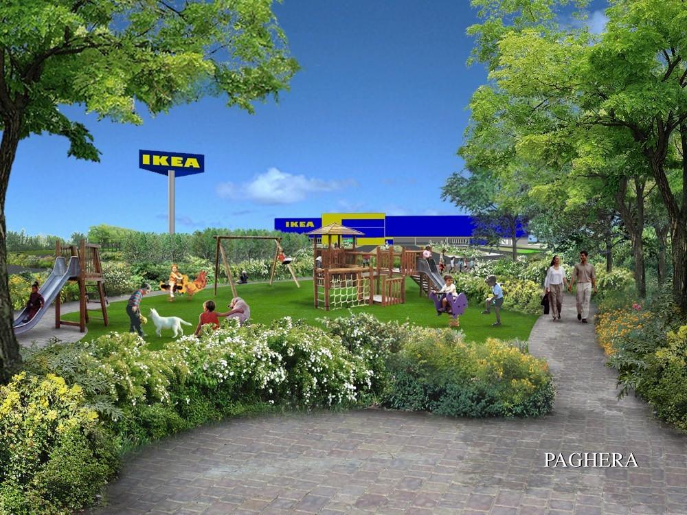 إيكيا Ikea– بريشا Ikea - Brescia - مركز تسوق