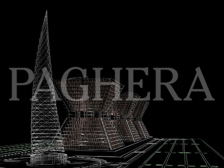 Centro direzionale - Concept architettonici
