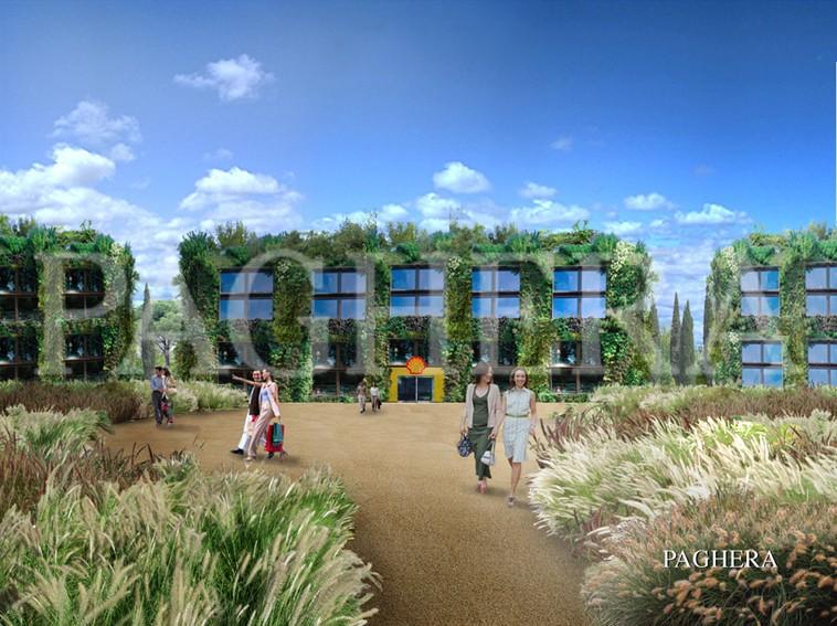 Palazzi verdi - Concept architettonici