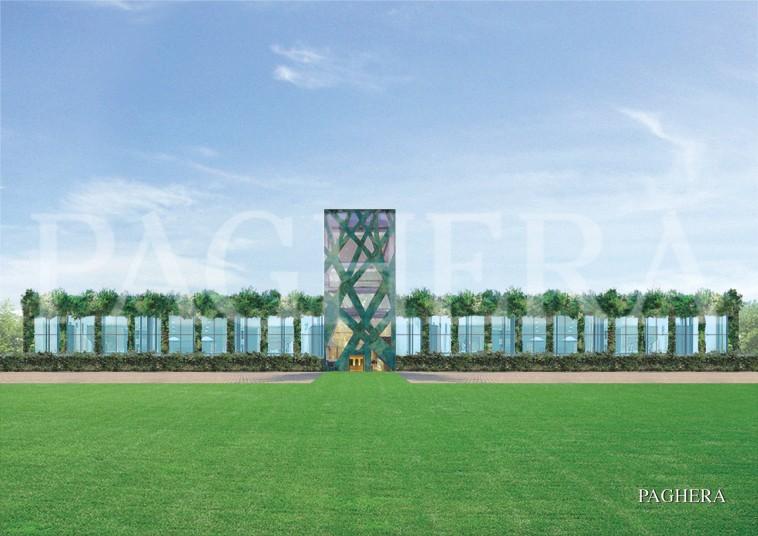القصور الخضراء - مفهوم المعماري