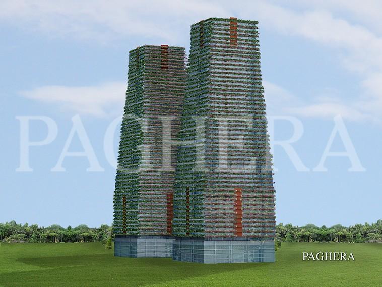 الأبراج ذات الأنظمة الإلكترونية القادرة على محاكاة سل� [..] - مفهوم المعماري