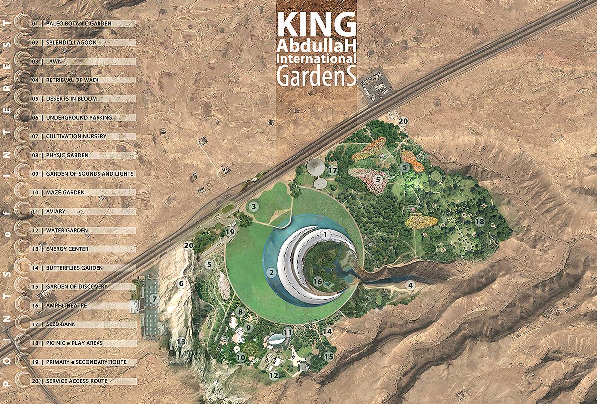 King Abdullah International Gardens Riyad Green Club