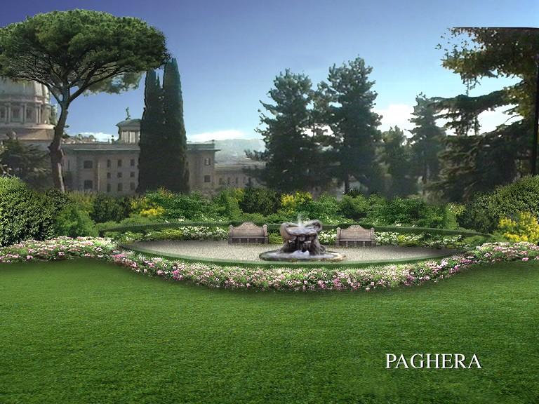 Giardini vaticani verde pubblico e parchi divertimento for Paghera giardini
