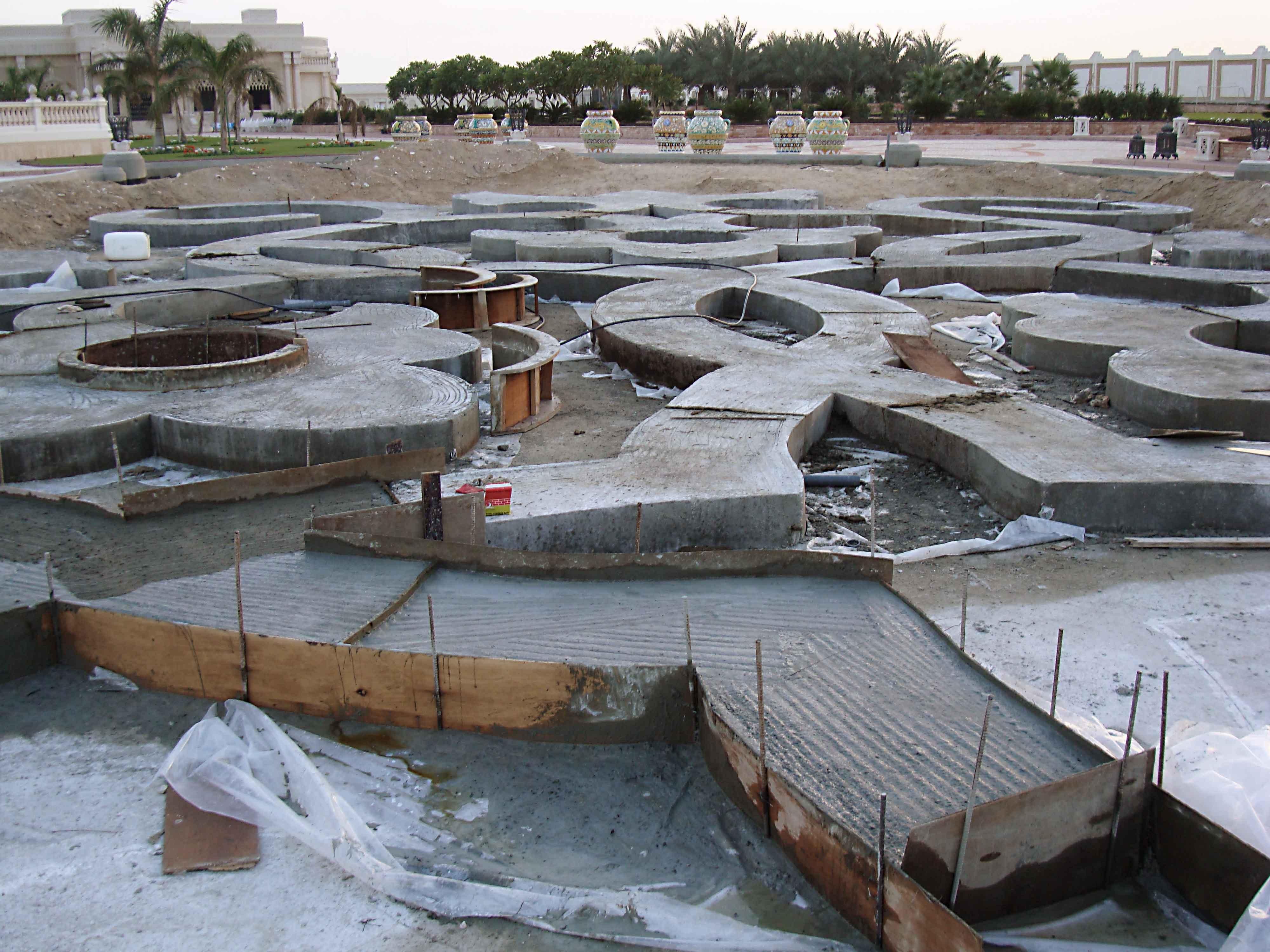 Palazzo Reale - Qatar - Giardini