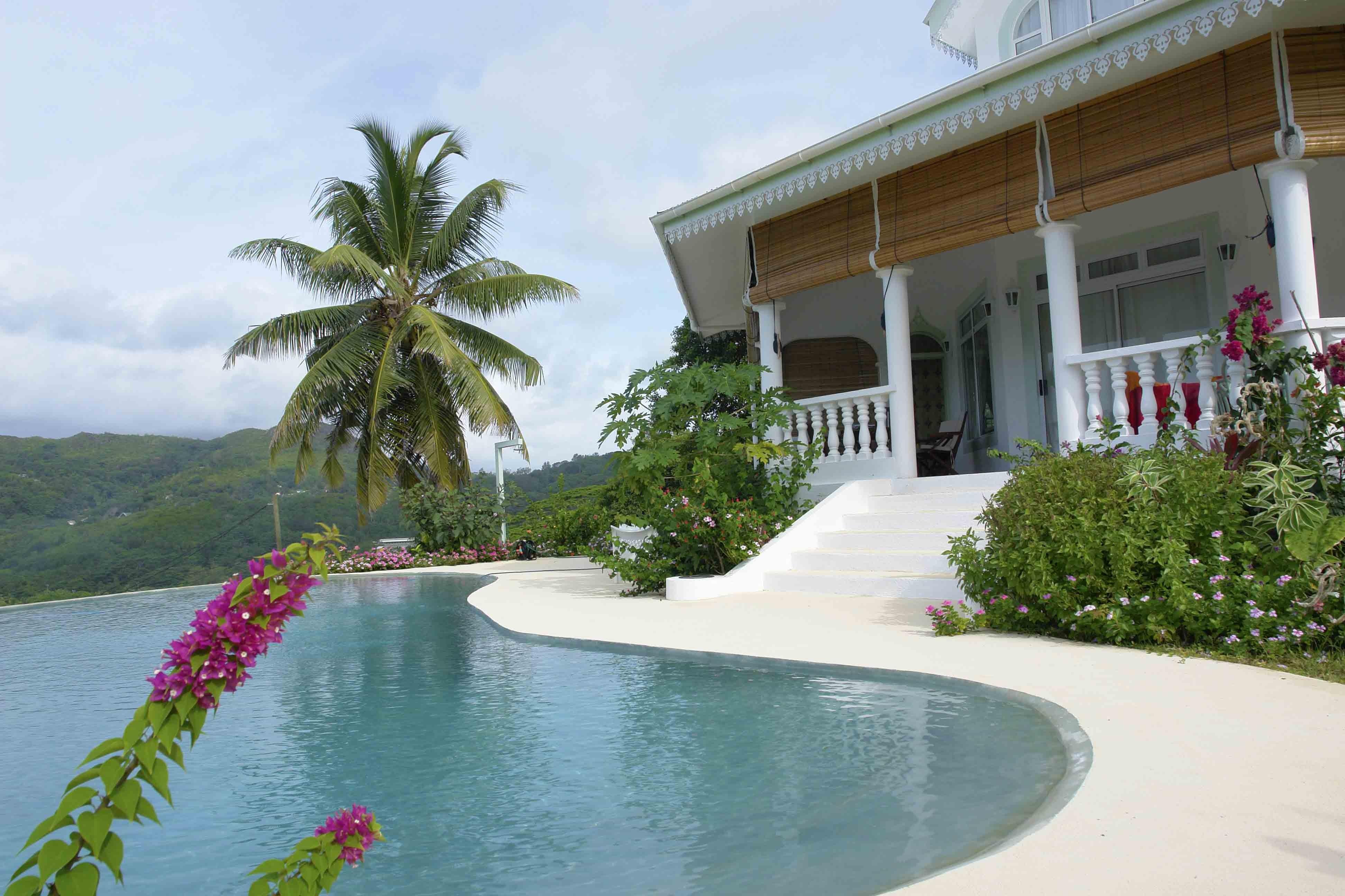 ڤيلا ماهي Villa Mahe' - الحدائق
