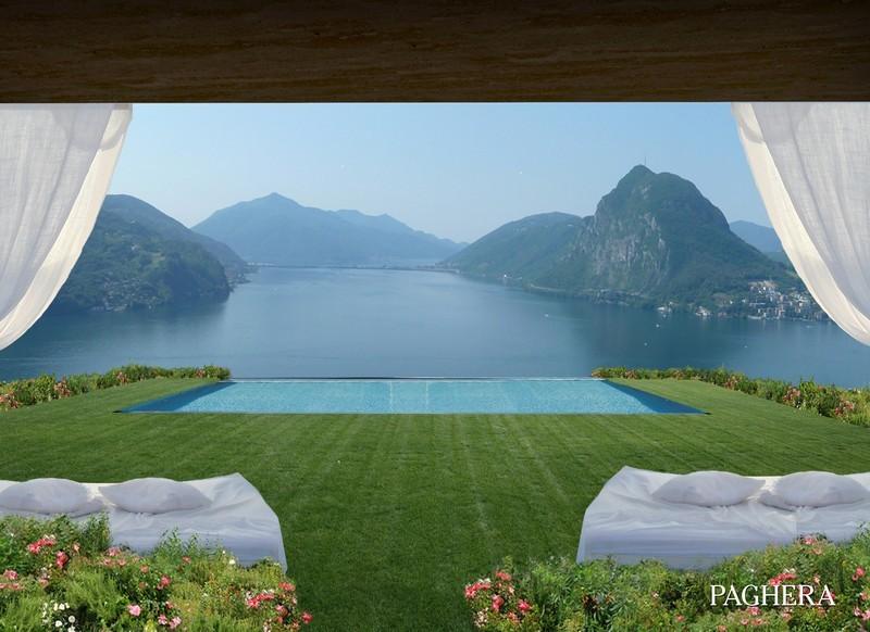 Five super villas in a lush green setting on lugano lake - Tourist Residential Complexes