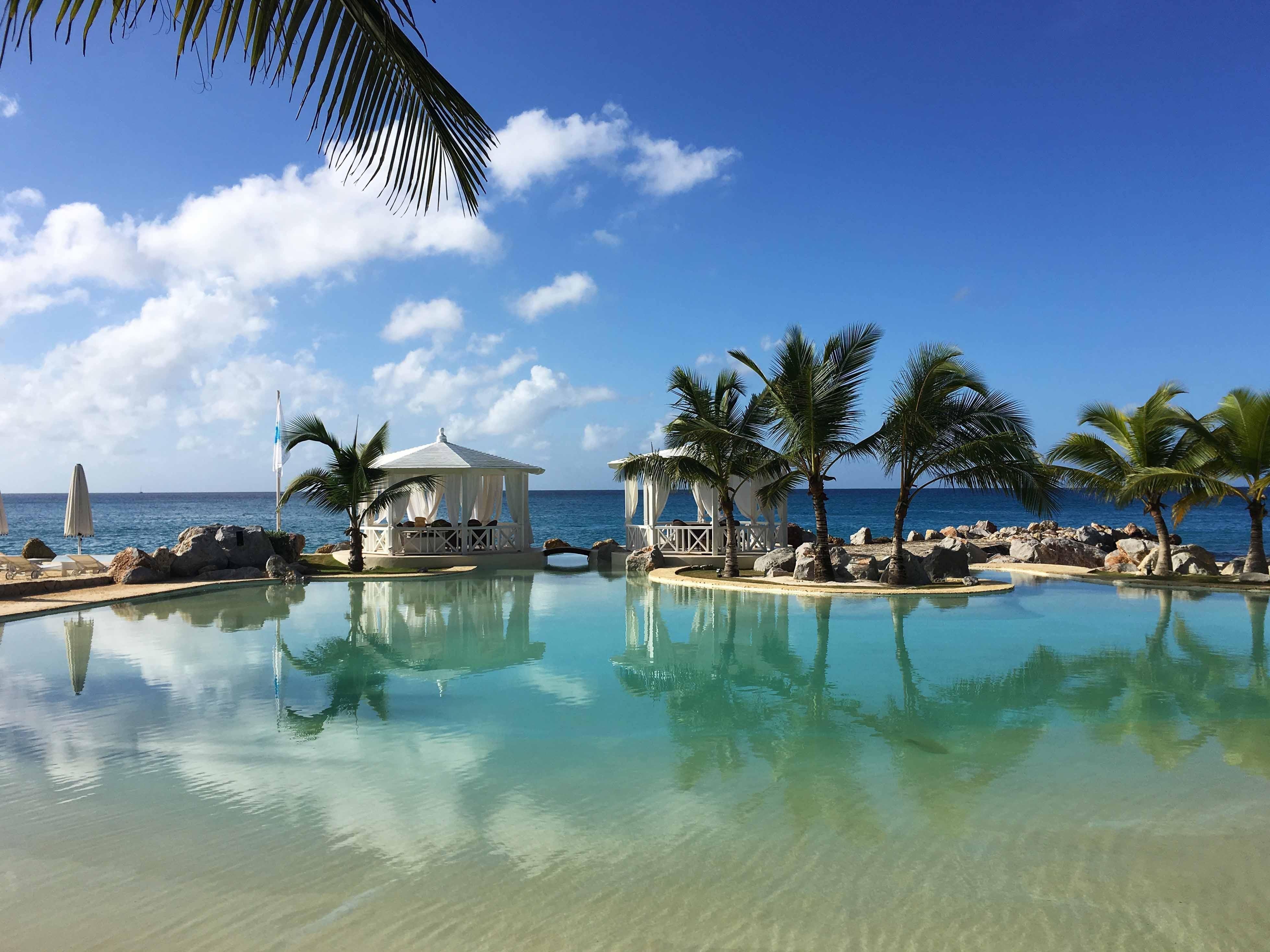 La splendida piscina oceanica di Santo Domingo - Piscine