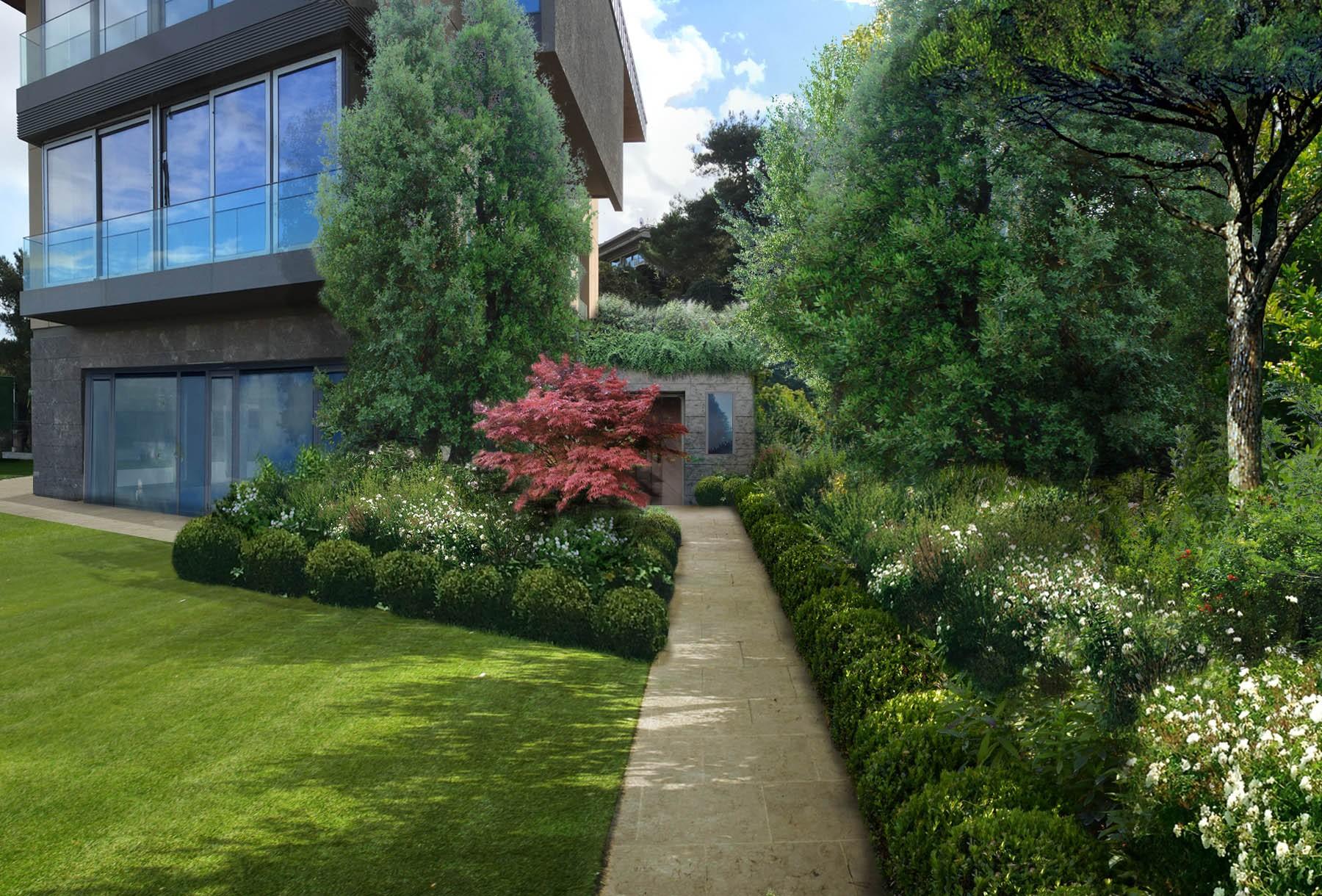 Un'elegante villa privata - Giardini