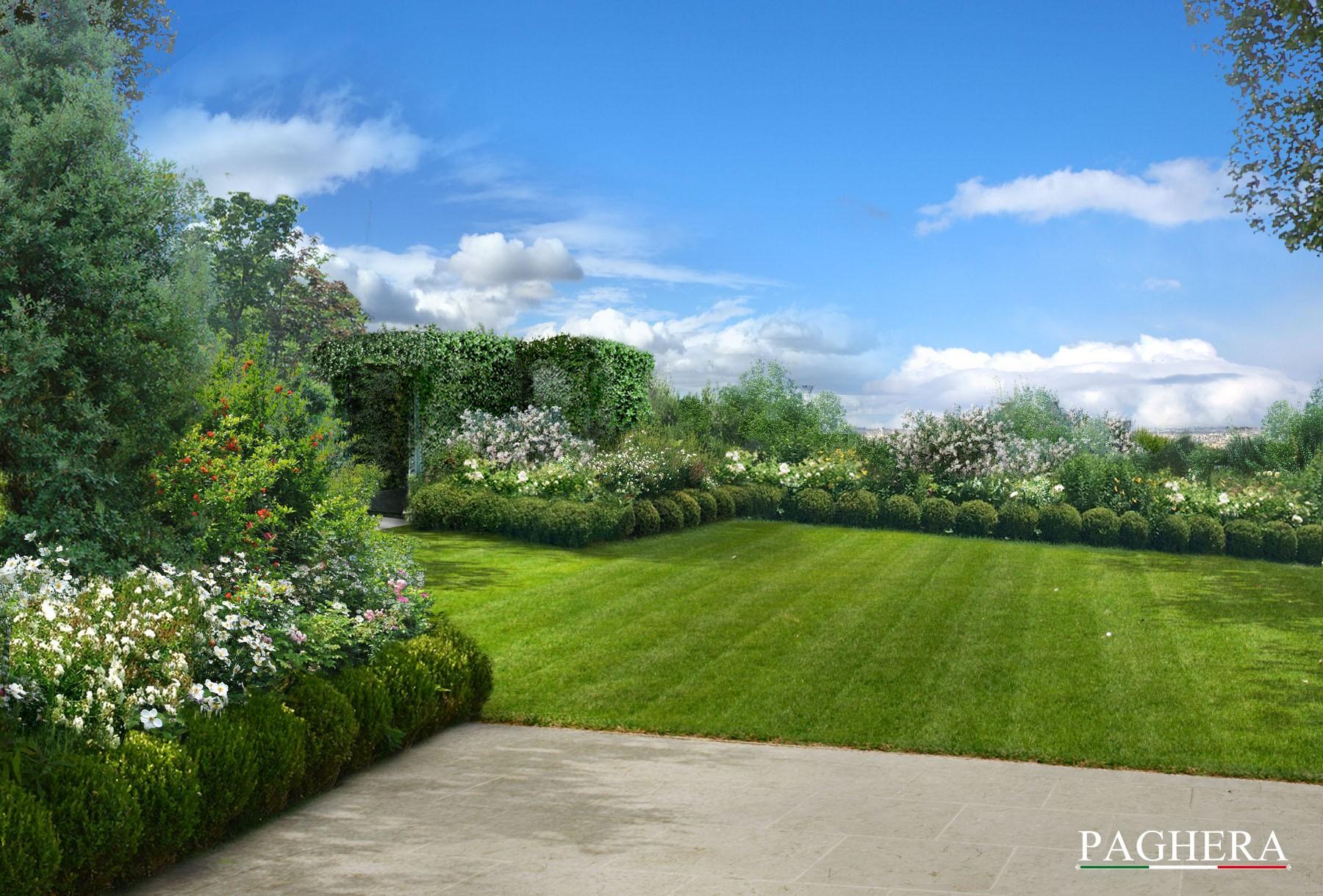 Un 39 elegante villa privata giardini paghera for Paghera giardini