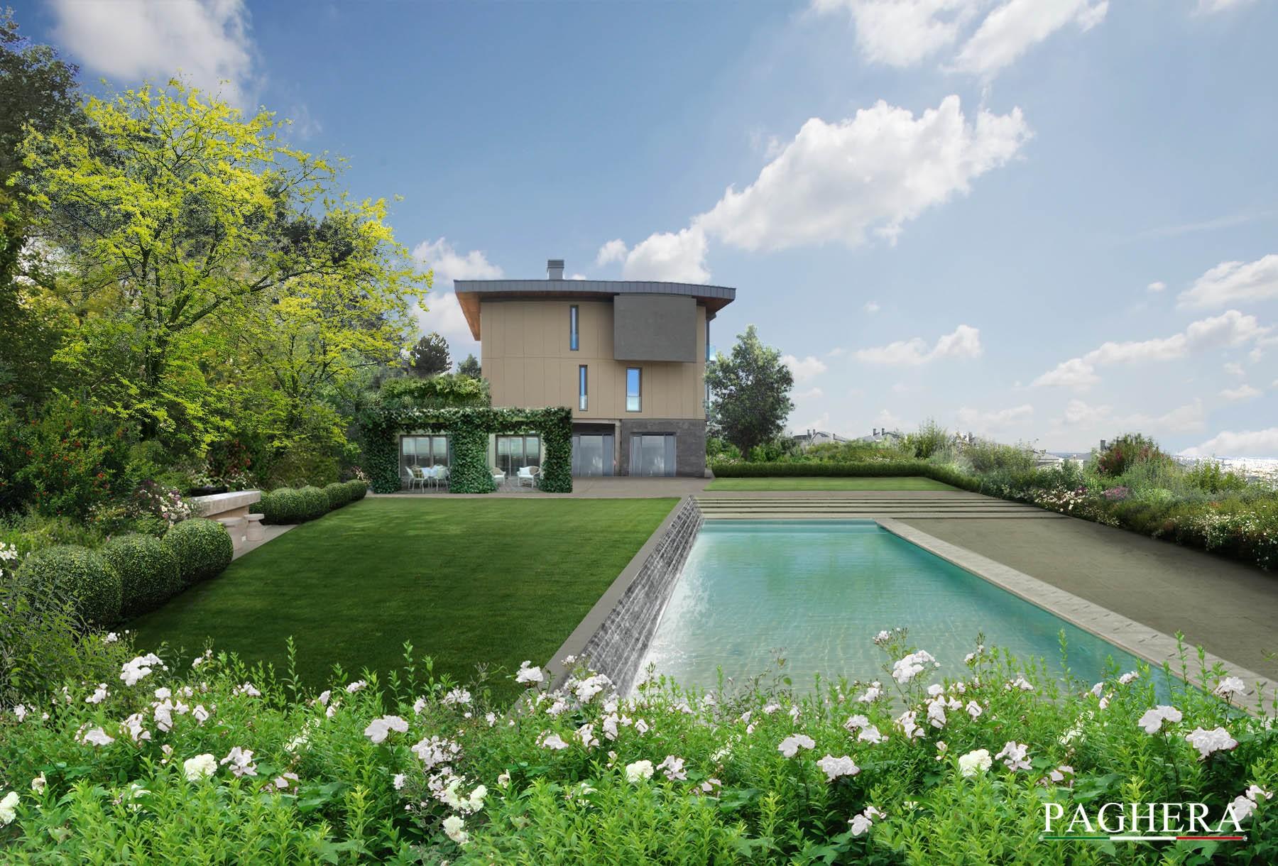An elegant private villa - Gardens