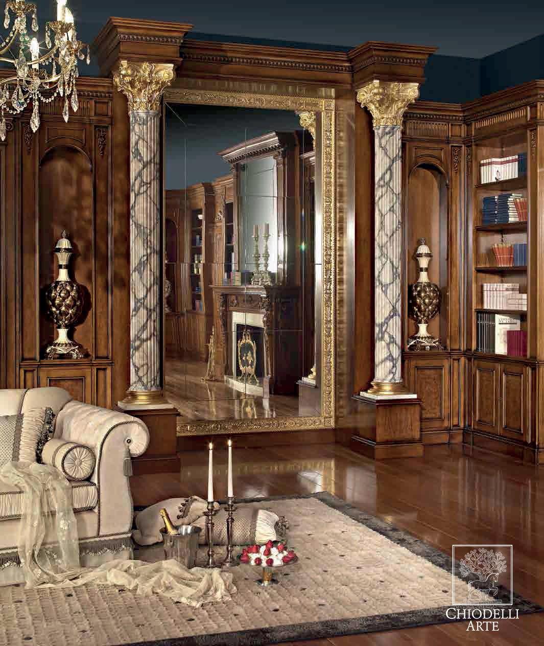 Tra materiali pregiati e pregevoli intarsi - Interior Design