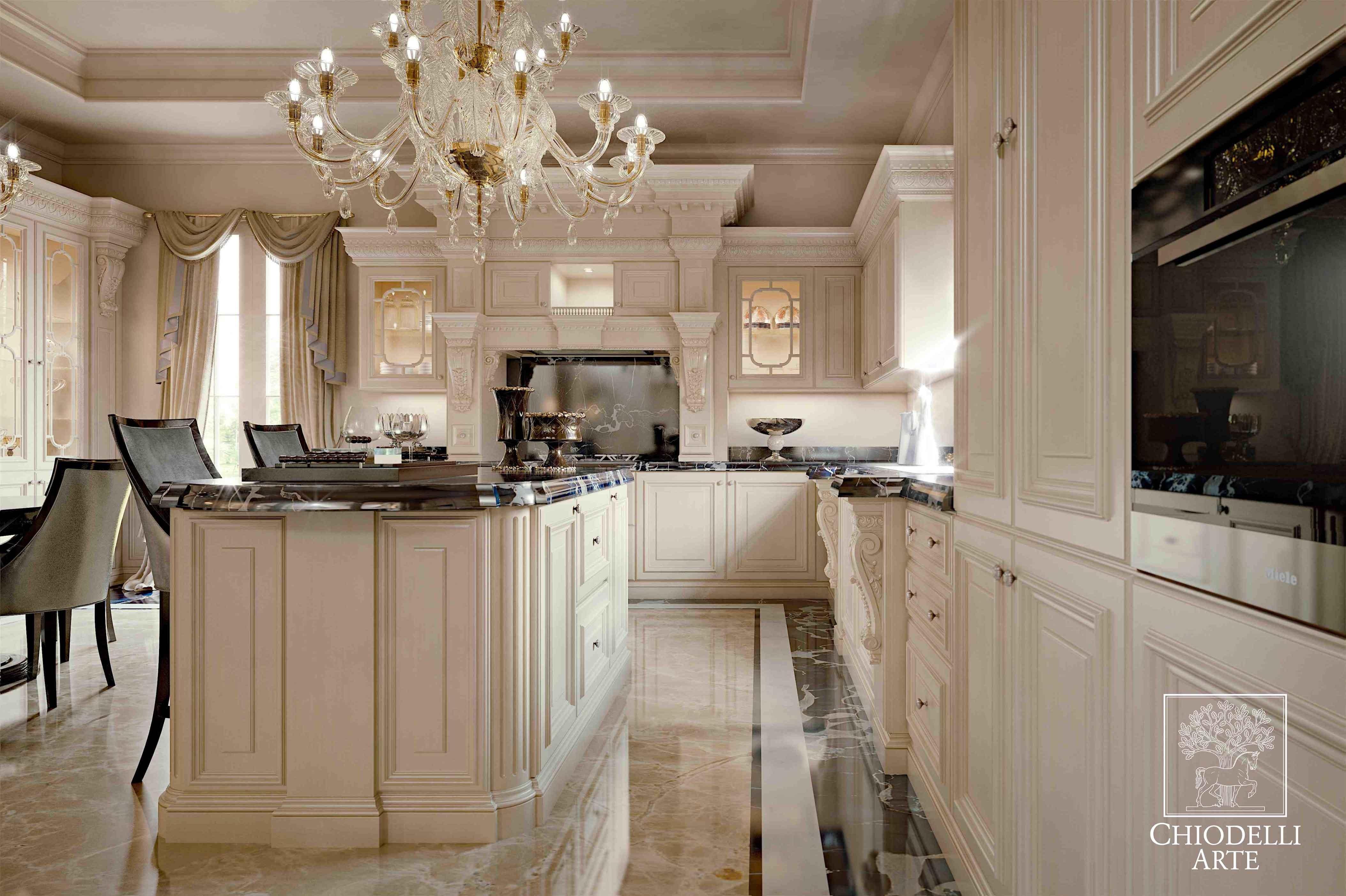 Per un pranzo nel lusso - Interior Design