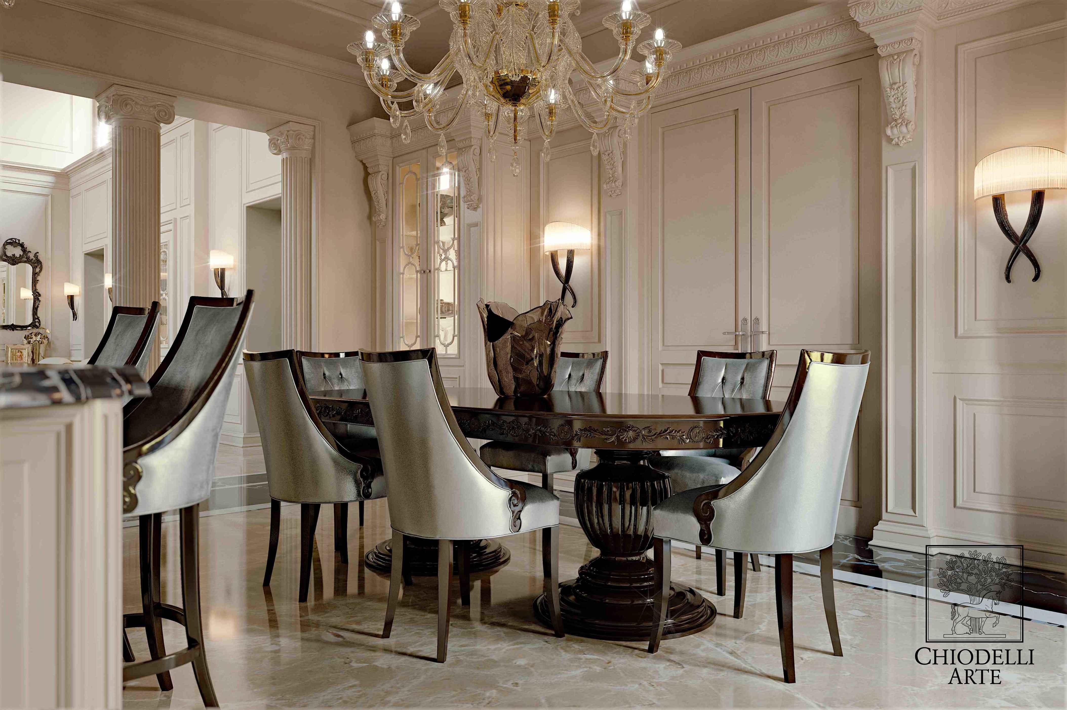 For a luxurious lunch - التصميم الداخلي