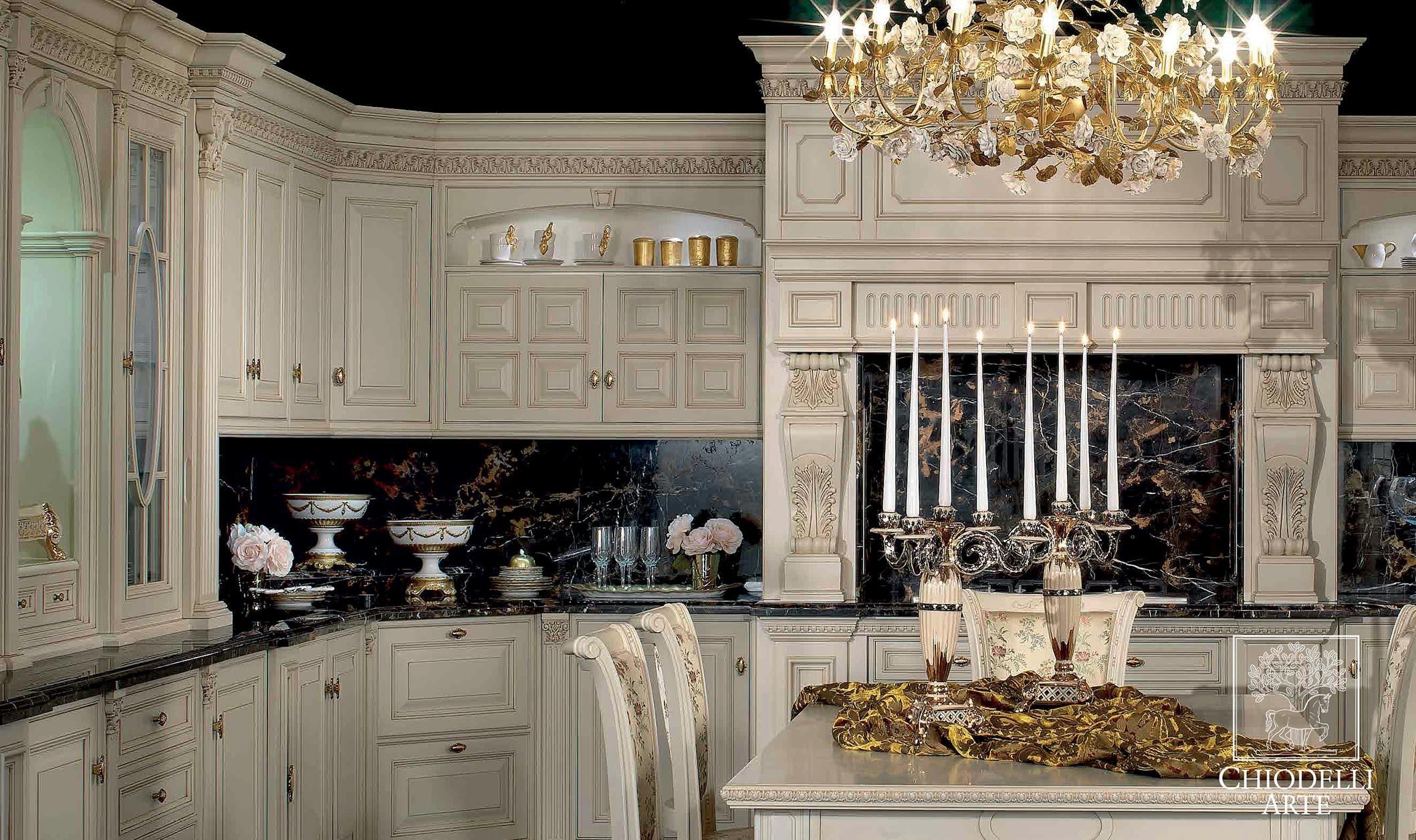 A Classic Kitchen Interior Design Paghera