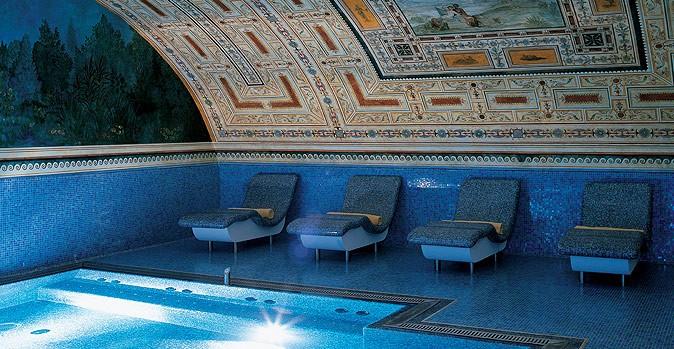 La lussuosa SPA di Villa Amistà - Piscine