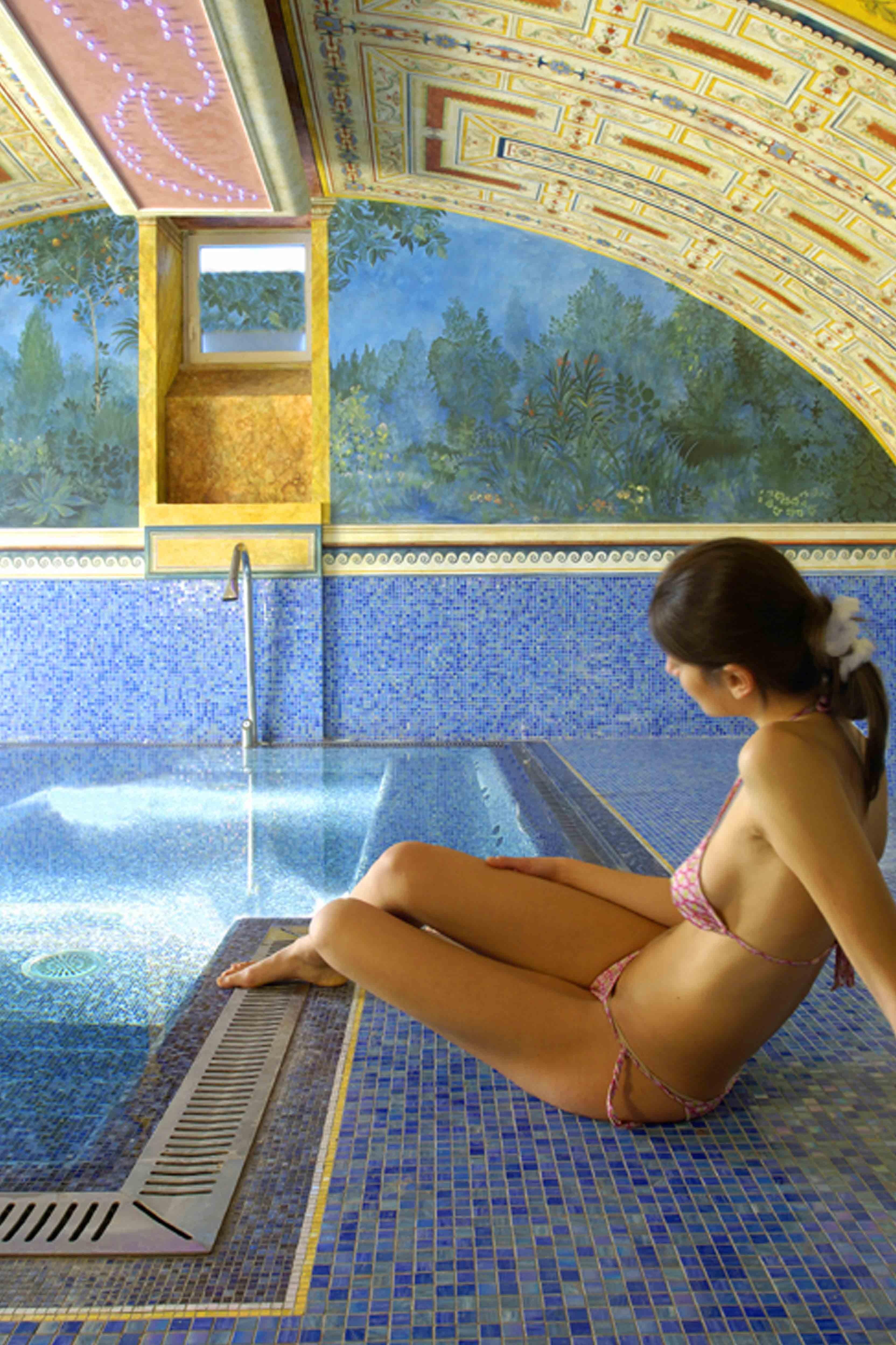 Villa Amista's luxury SPA - حمامات السباحة