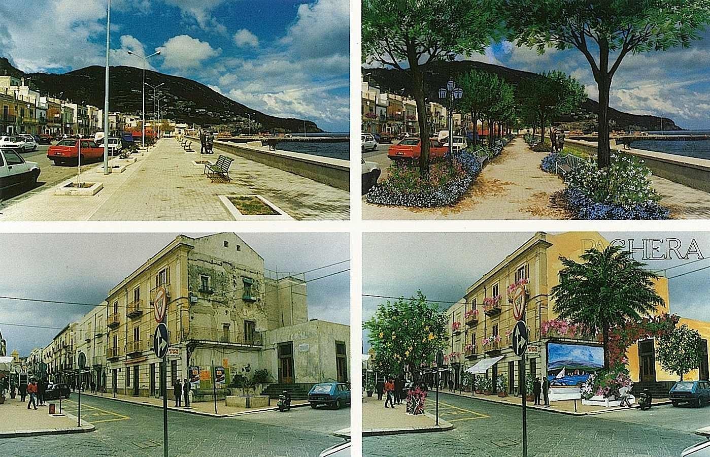 حدائق المركز التاريخي – تاورمينا Taormina - الحدائق والمتنزهات العامة الخضراء