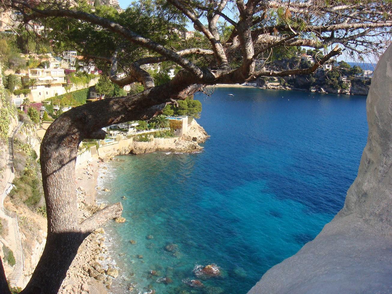 Vertically above the sea - Gardens