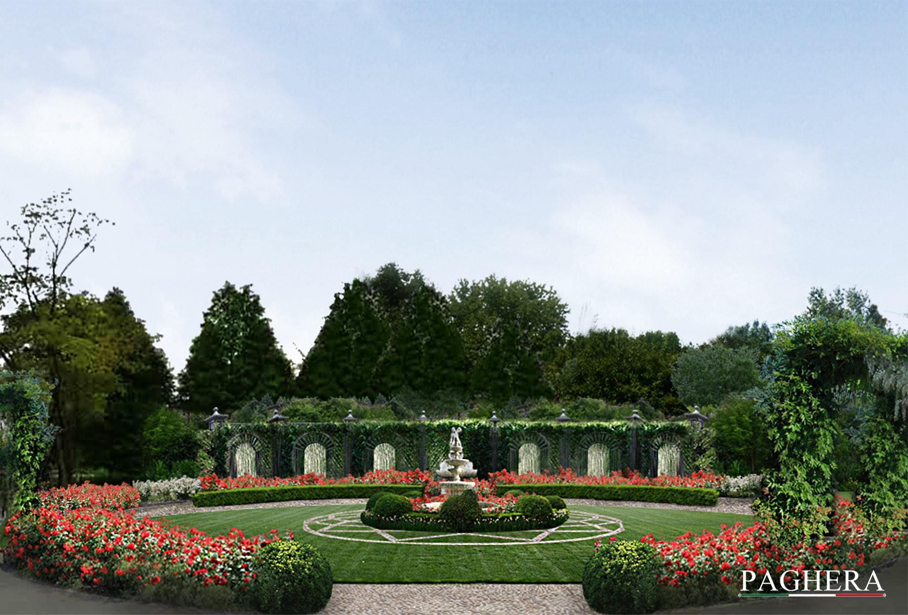 Un giardino italiano in Cina - Verde Pubblico e Parchi Divertimento
