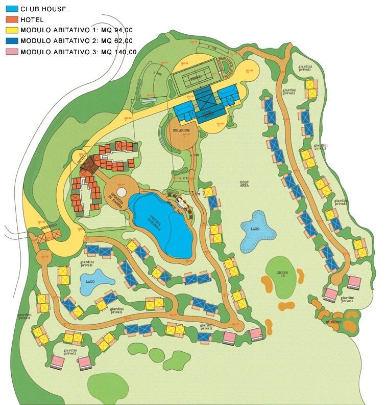 Bonassola Golf - Genova - Italy - Public Green Areas & Amusement Parks