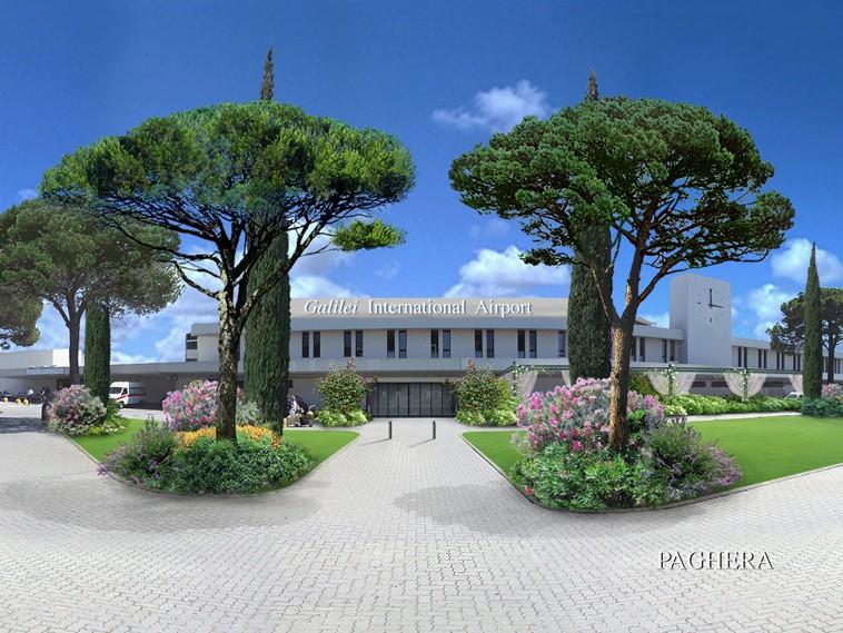 Airport - Pisa - Italy - Public Green Areas & Amusement Parks