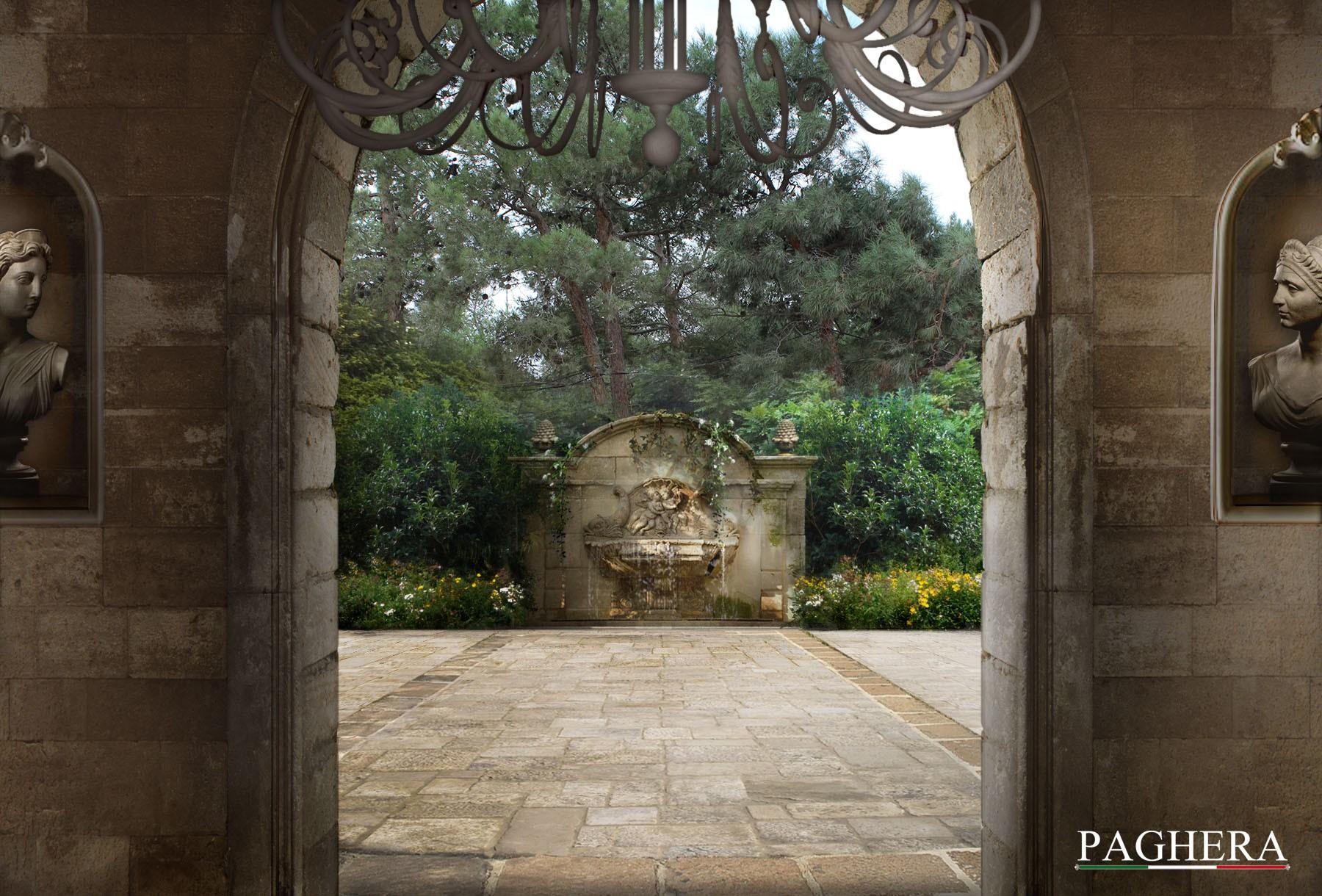 Old-fashioned Villa - Gardens