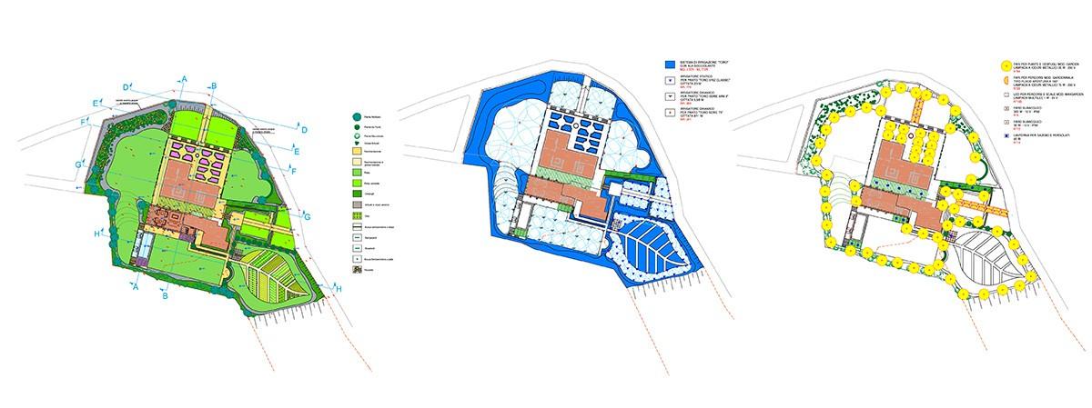 Progettazione Giardini Paghera - Progetto definitivo