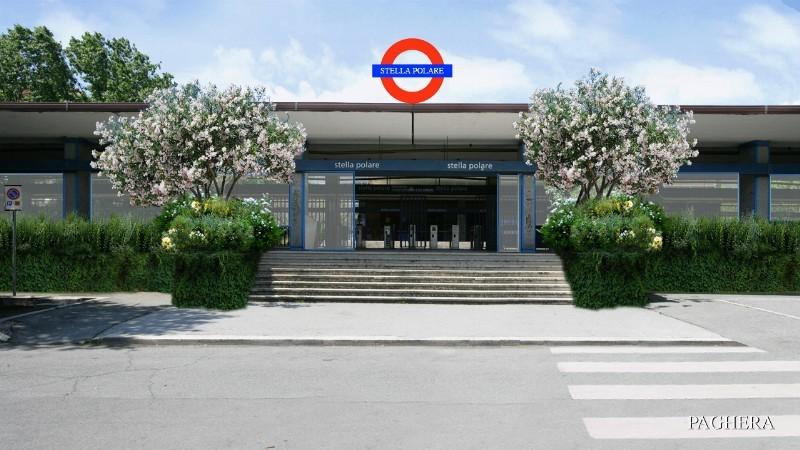 La nuova stazione green metropolitana - Verde Pubblico e Parchi Divertimento