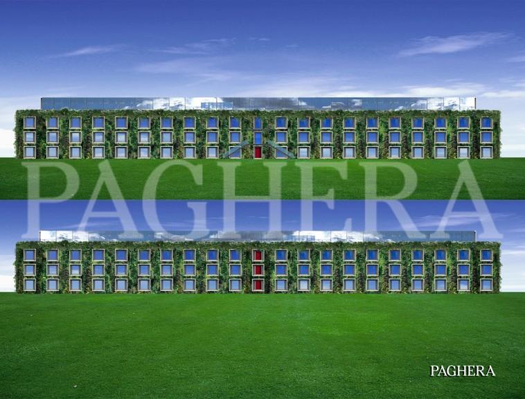 Palazzi verdi - مفهوم معماری