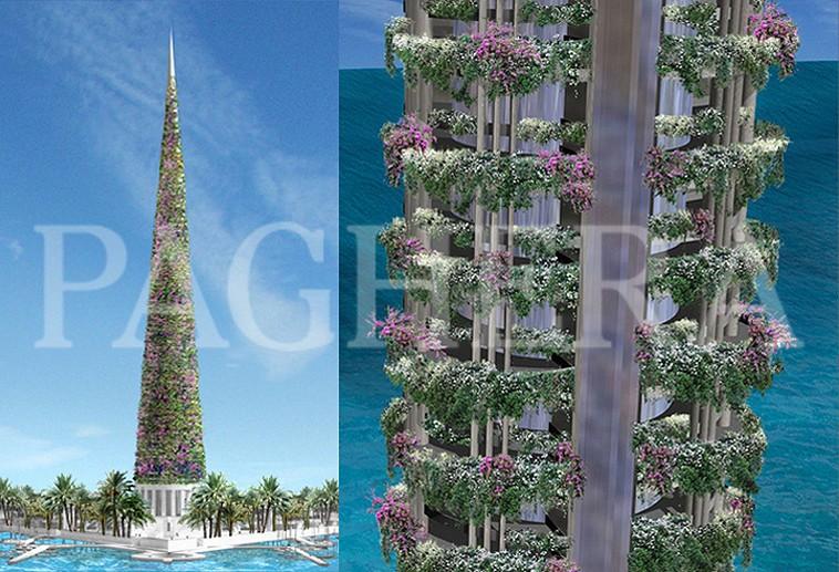 Torri bioniche - مفهوم معماری