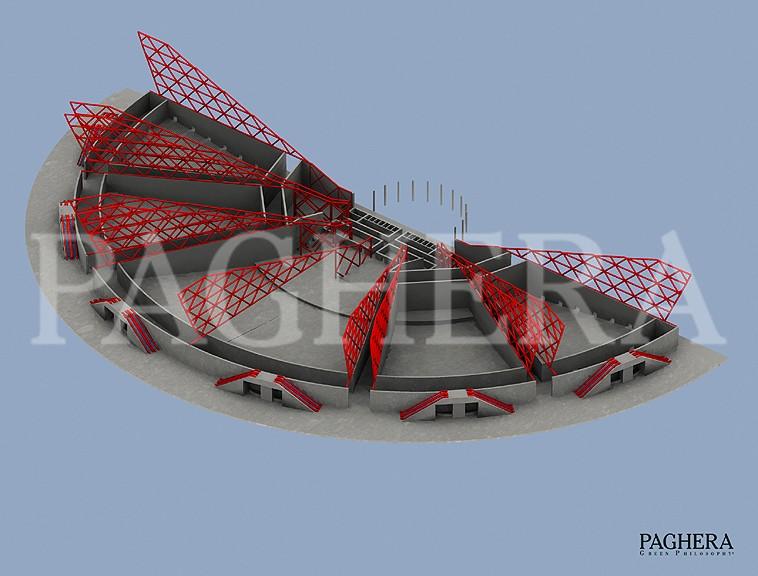 Anfiteatro - مفهوم معماری