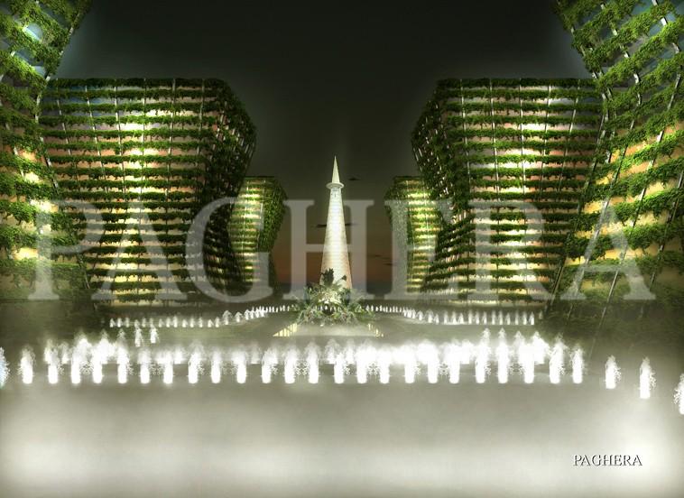 Centro direzionale - مفهوم معماری