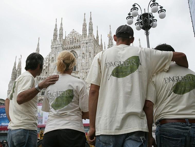 Concert in Piazza Duomo, Milan -