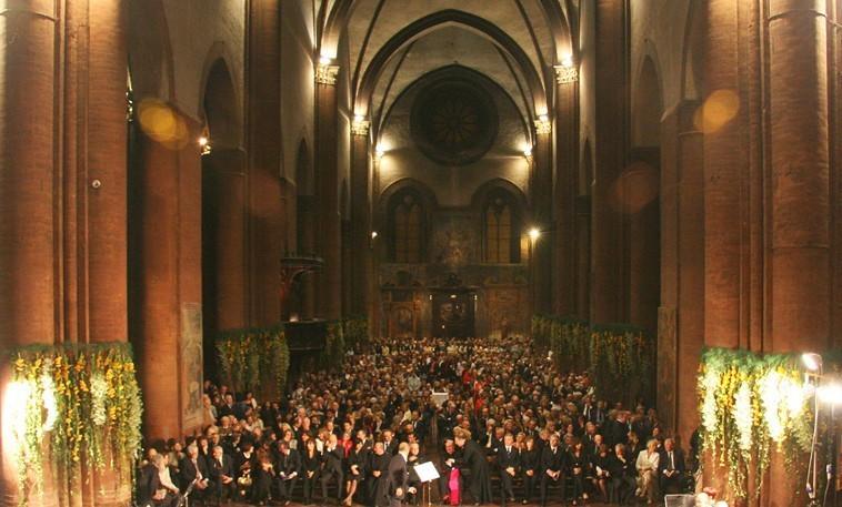 Basilica of S Maria del Carmine in Pavia -