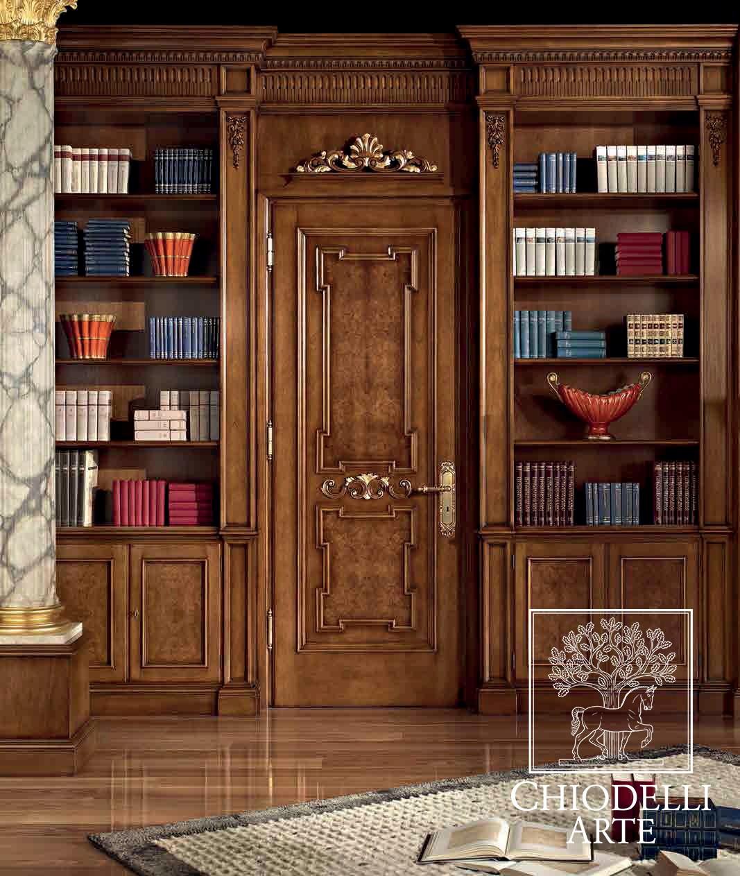 Among valuable materials and fine inlays - طراحی داخلی