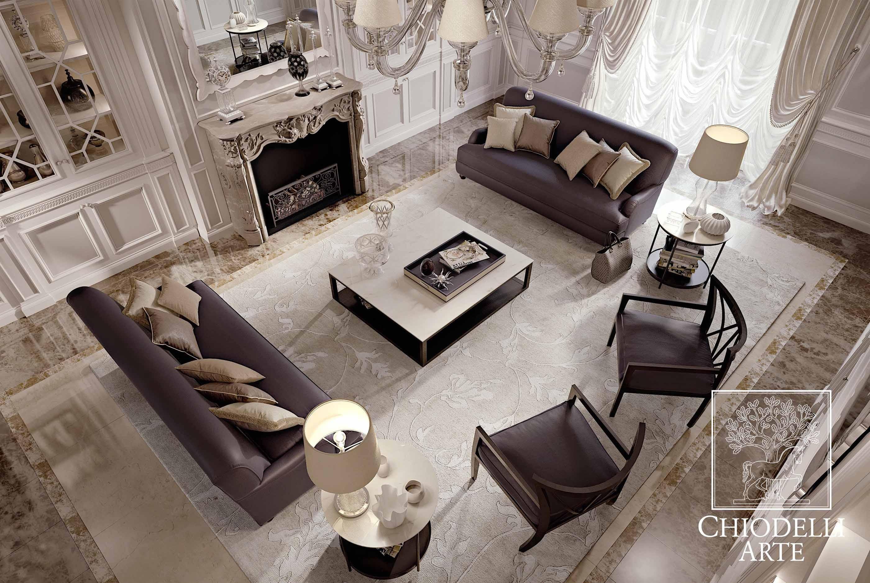 Geometric lines and contrasts - طراحی داخلی