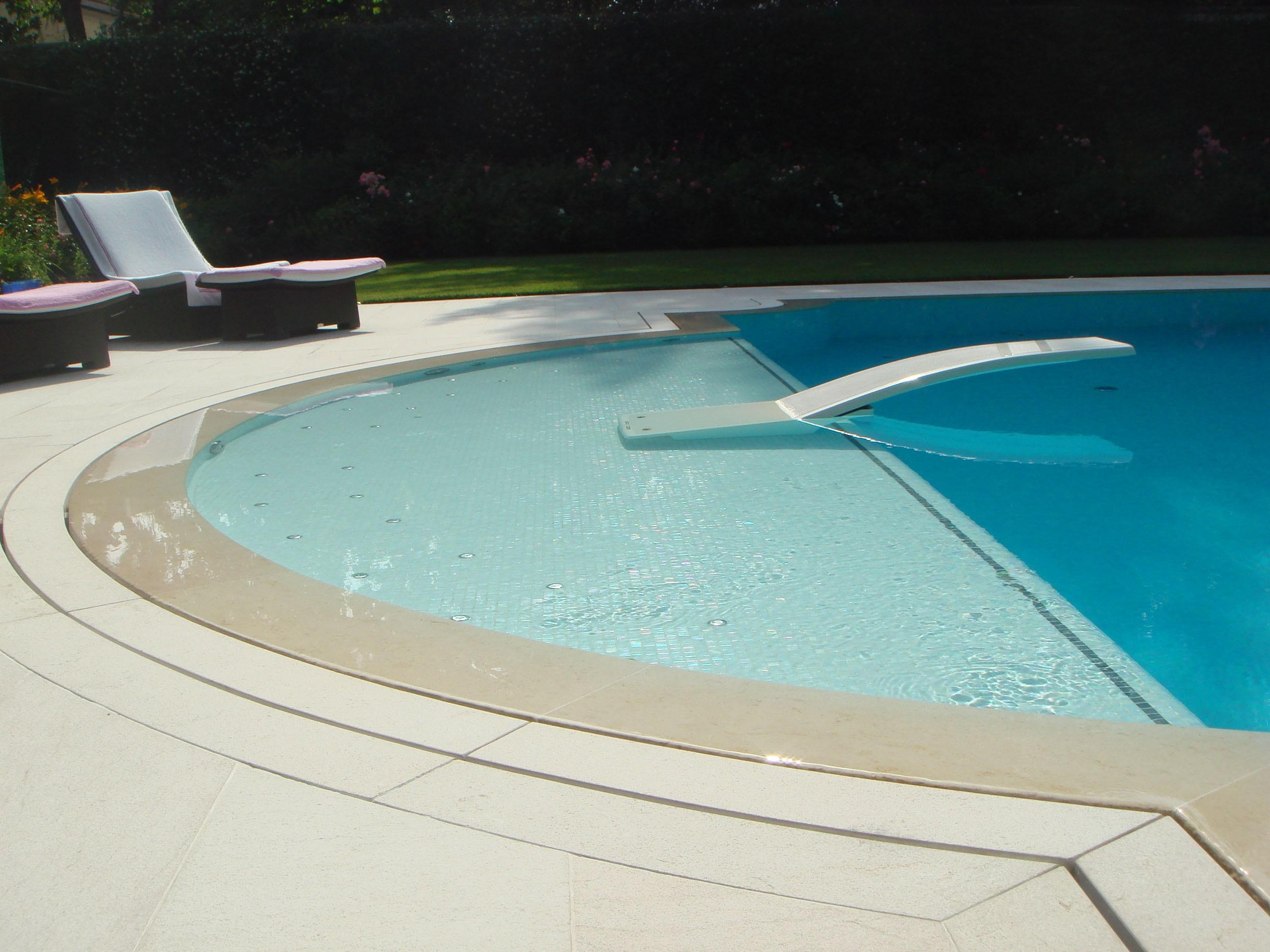 A dip in the blue - استخر های شنا