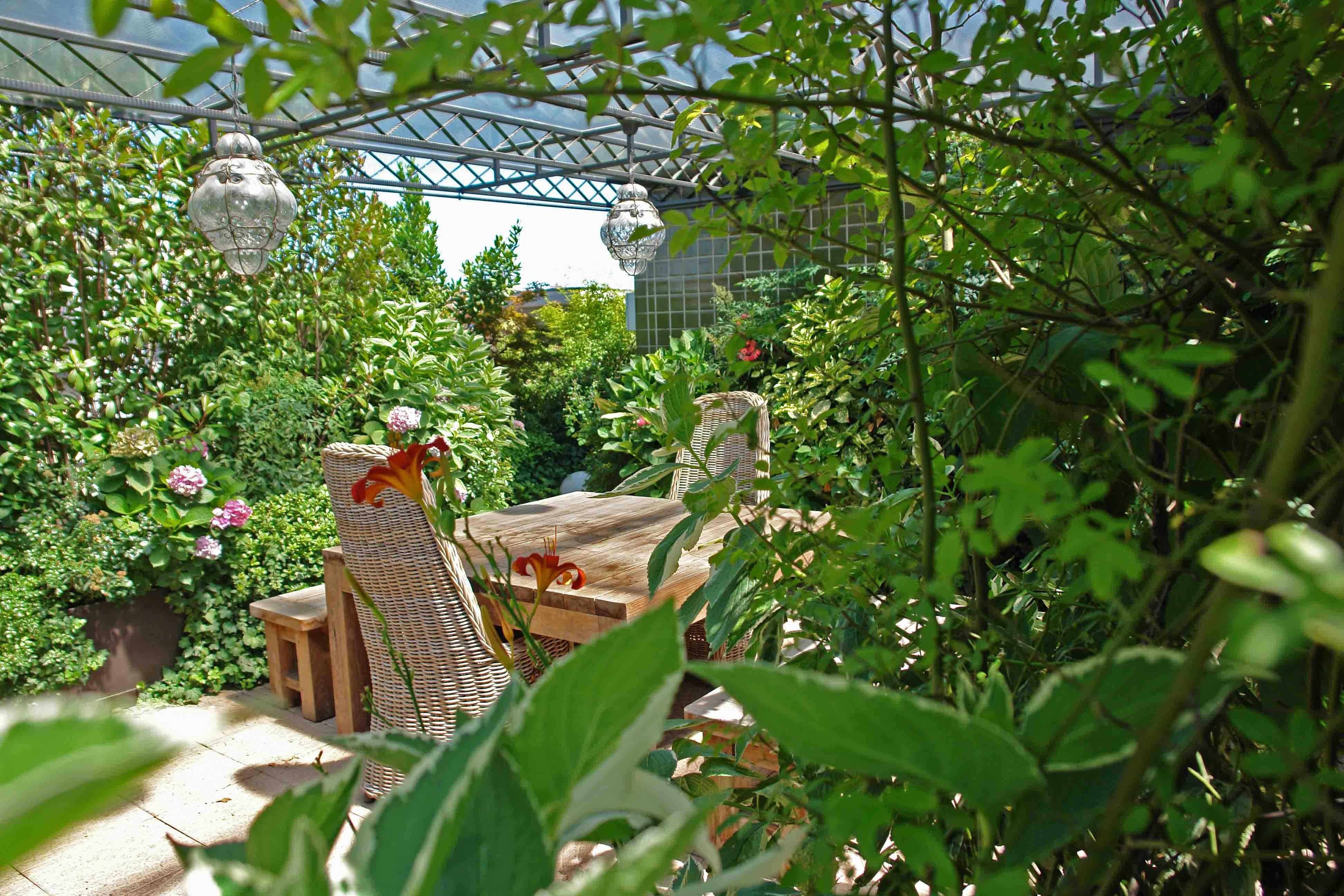 Vegetal rooms - تراس ها
