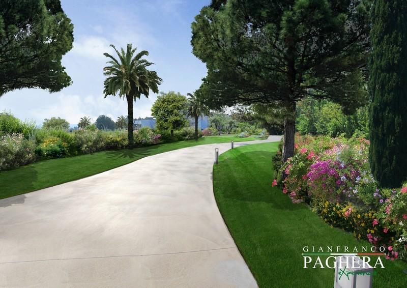A Mediterranean villa with a new look - باغ ها