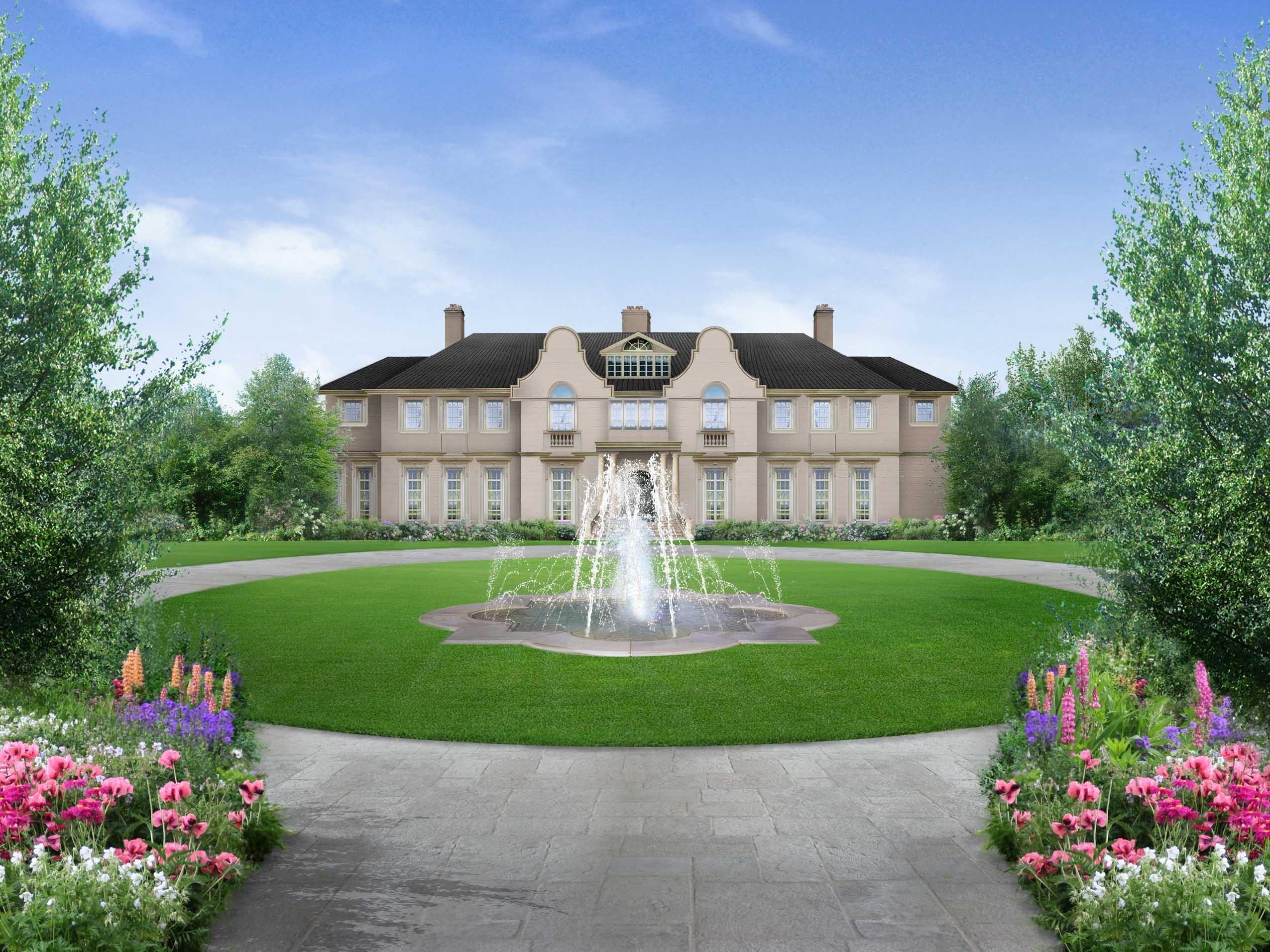 London, a grandiose private villa - باغ ها