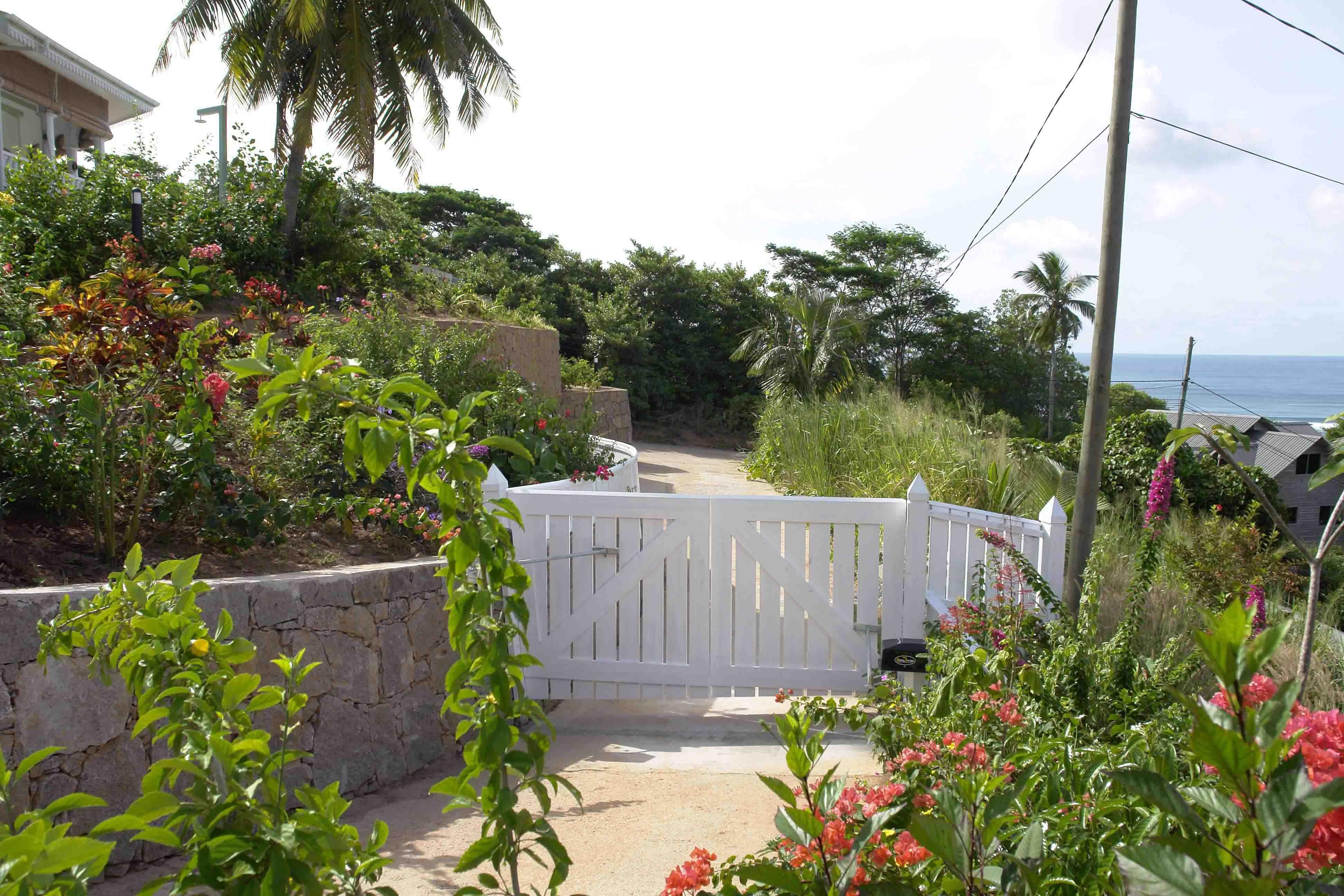 Seychelles - Villa Mahè - باغ ها