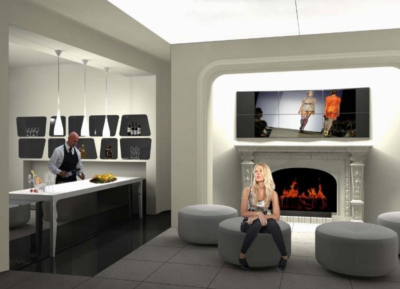 :إعادة ترميم ڤيلا للفنون لتصبح معرضا لشركة مشهورة في عا [..] - مقرات الشركة