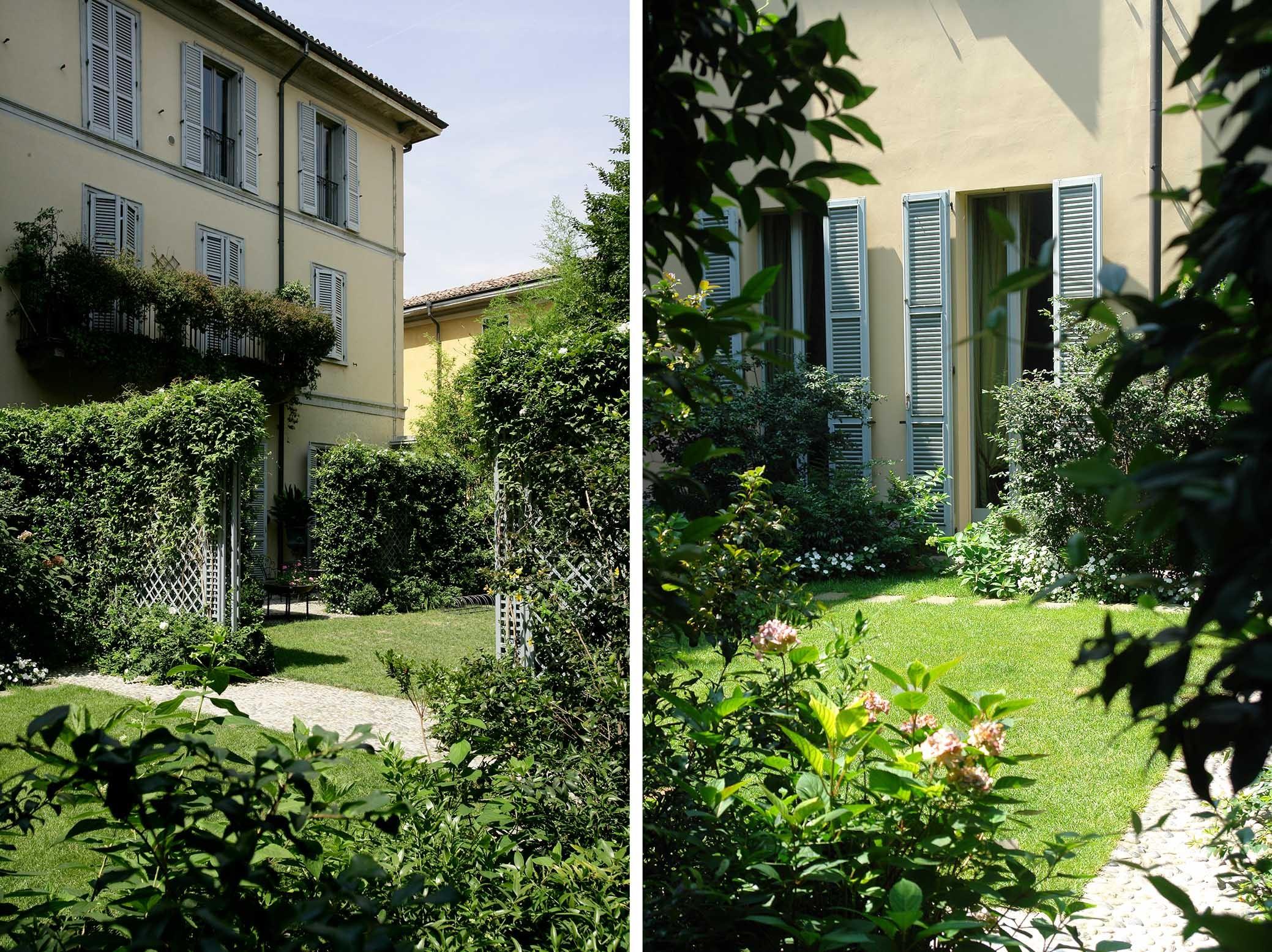 Green plaza - باغ ها