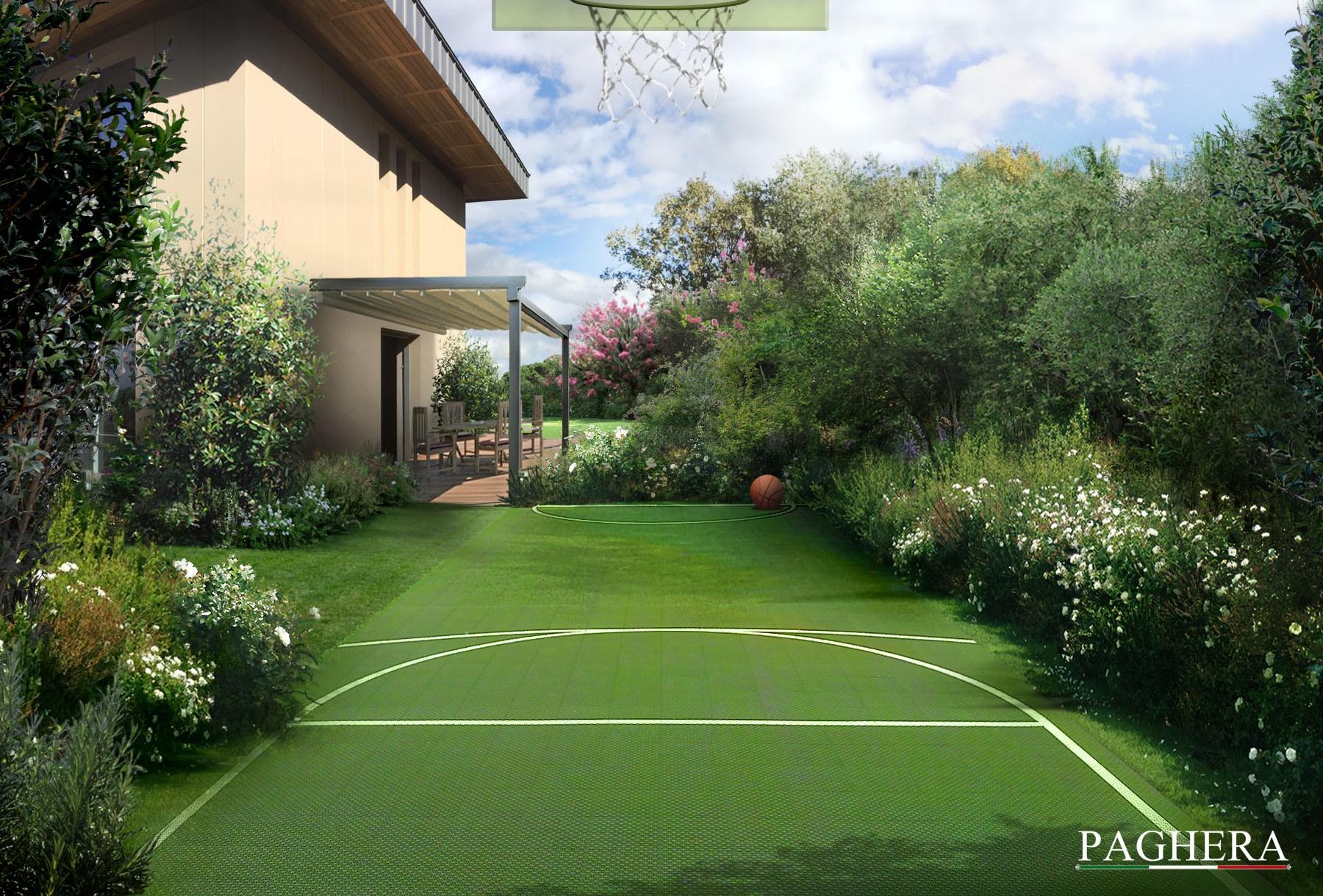 An elegant private villa - باغ ها