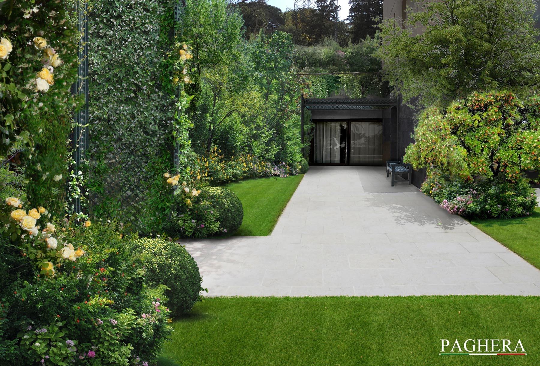 A colorful garden - باغ ها