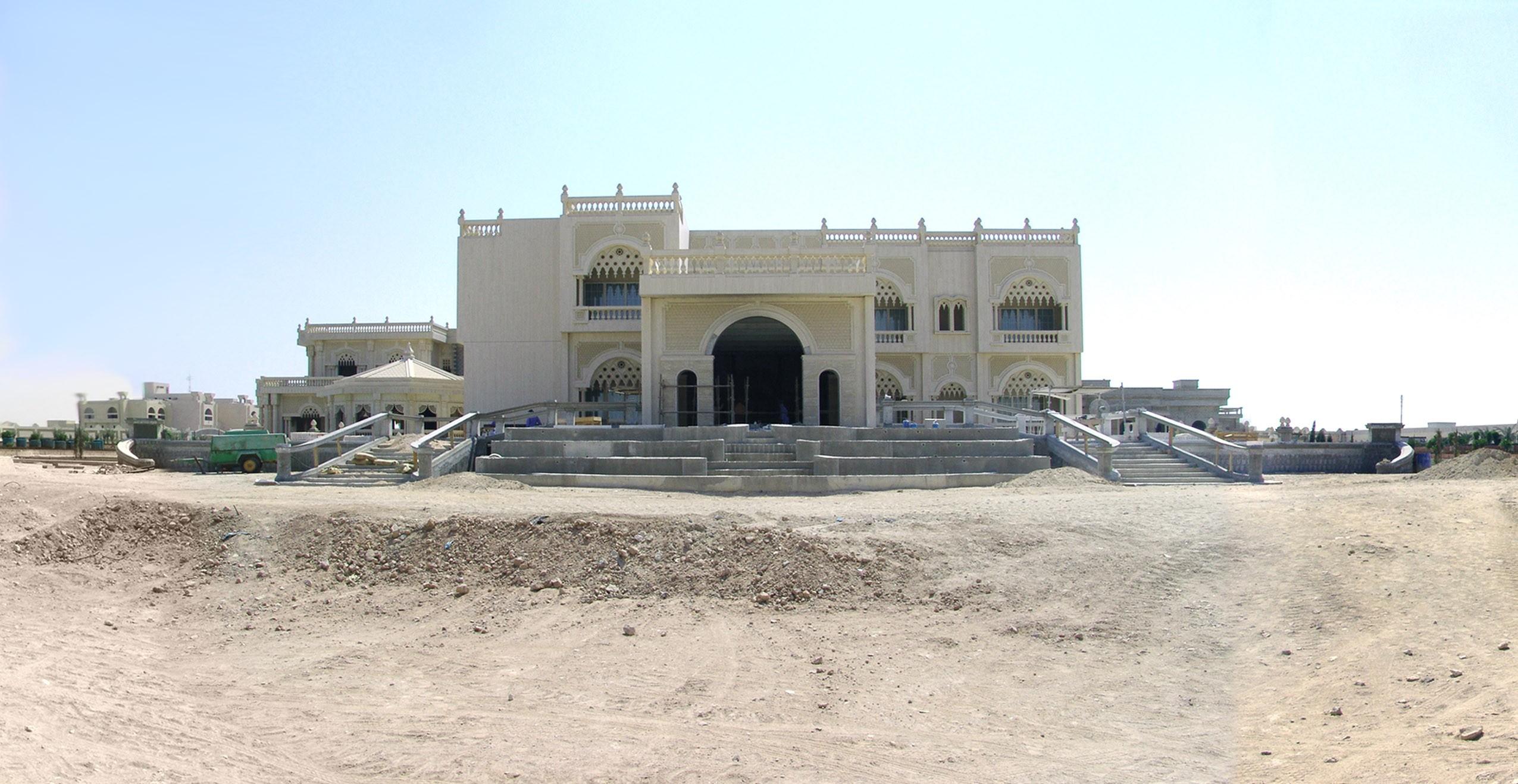 Royal Villa - Qatar - باغ ها