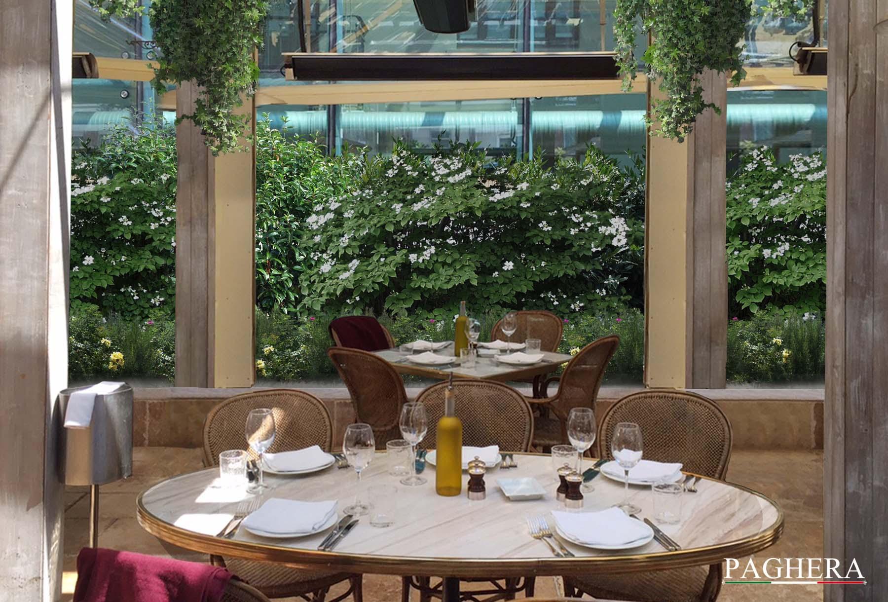 La Petite Maison - Restaurant terrace design - هتل ها