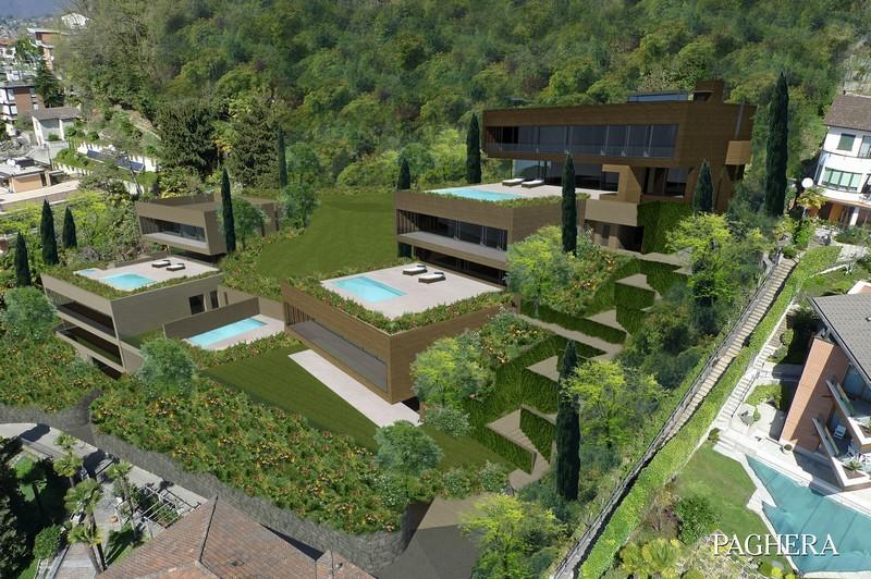 Five super villas in a lush green setting on lugano lake - مجموعه های توریستی
